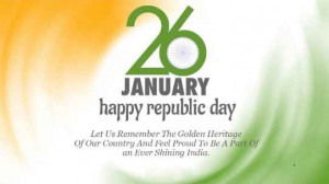Happy Republic day 26th january 2015 messages for wishing friends ...