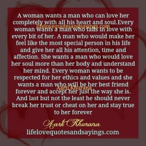 Love A Woman To The Core..