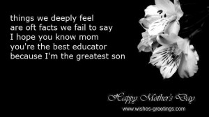 son love quotes for mother