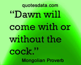Famous mongol quotes