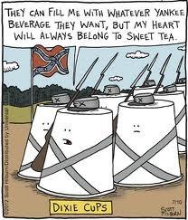 Southern humor...