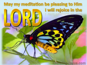 ... Old Testament » Psalms » Psalm 104-34 I rejoice in the Lord-gold