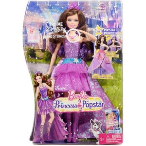 Barbie Princesa Pop Star Keira da Mattel