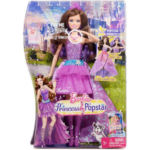 Barbie Princesa Pop Star Keira da Mattel