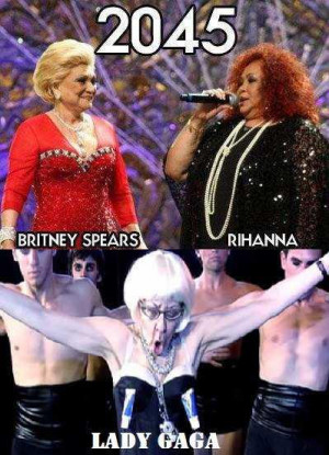 britney spears, funny, girl, lady gaga, lol, old, old people, quotes ...