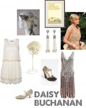 Daisy Buchanan Costume
