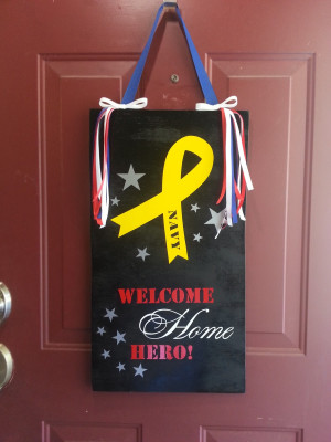 Displaying 16> Images For - Military Homecoming Sign Ideas...