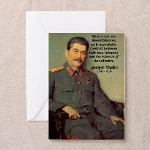Joseph Stalin Greeting Cards (Pk of 10)