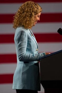 DNC Chair Debbie Wasserman Schultz lays out the stark differences ...