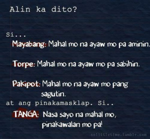 tagalog quotes about love patama