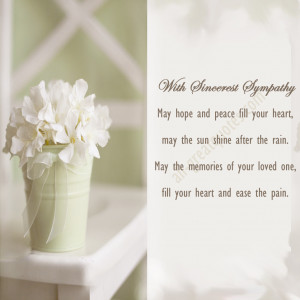 deepest sympathy condolences quotes