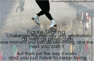 skating figure skating inspiration motivation quote woofystuff likes ...