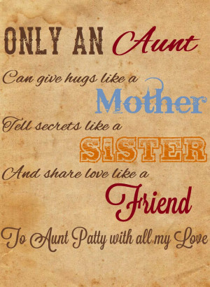 ... Aunt Patties, Add Aunt, Quotes Sayings Ver, Tía Aunt, Aunt Quotes