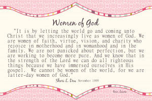 Quote of the Day: Women of God