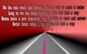 Love Will Find A Way - Christina Aguilera Song Lyric Quote in Text ...