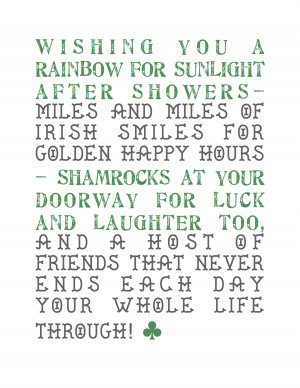 Related Pictures irish blessings printable