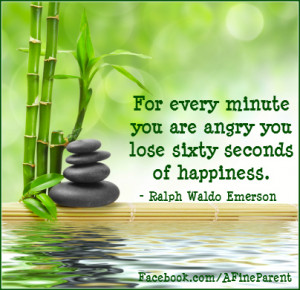 Emerson Quote For Every Minute You Are Angry You Lose Sixty Seconds of ...