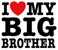 Love My Big Brother t-shirts and More