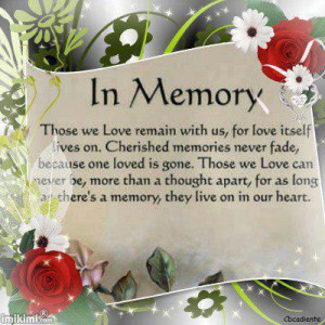 see more Quotes, Love in Memory