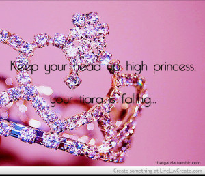 Princess Tiara Quote