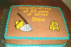 retirement cake for janitor more retirement cake 1 1