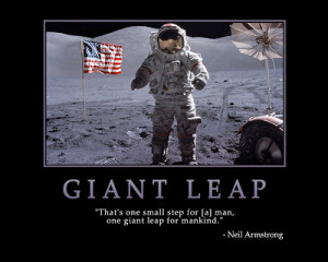GIANT LEAP - Motivational Wallpapers