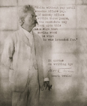 20 Quotes from Mark Twain on writing