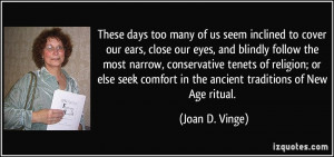 More Joan D. Vinge Quotes