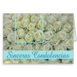 Condolences Images In Spanish Spanish sympathy card