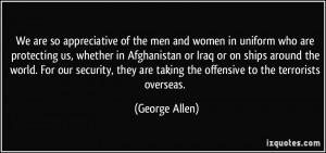 More George Allen Quotes