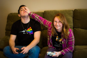 Gamer Couples Quotes Gamer Couple Outta my Way