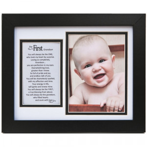 1st Grandson Picture Frame with Poem