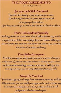 ... peace the four agreements life change love quotes inspiration quotes