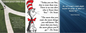 quotes, dr suess quotes, robert browing quotes