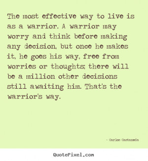 Great Warrior Quotes