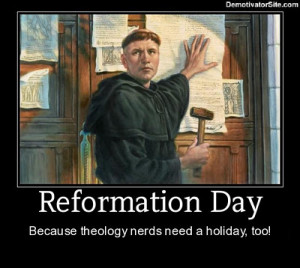 ... shares some tips and activities for a great Reformation Day Party