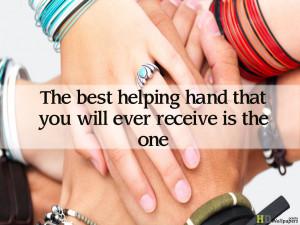 Wishing Love hands love quote wallpaper