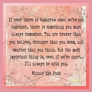 Graduation Quotes For Girls Pooh quotes girls room
