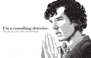 BBC One's Sherlock based on Sir Arthur Conan Doyle's Sherlock Holmes ...
