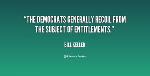 """The Democrats generally recoil from the subject of entitlements."""""""