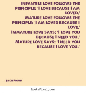 Love Quotes Thoughts Erich