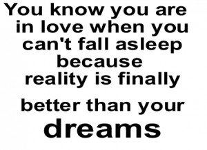 sayings when you are in love you can 39 t fall asleep love quotes