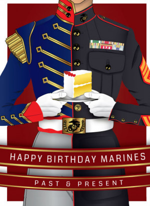 As many of you know, the Marine Corps' birthday is November 10, just 8 ...