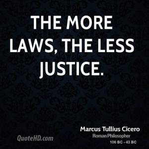 Marcus Tullius Cicero Legal Quotes