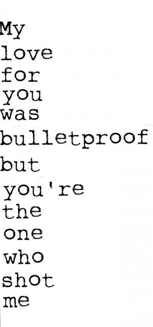 quote quotes lyrics pierce the veil bulletproof love lyric