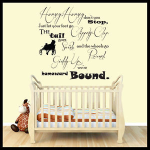 Nursery-Rhyme-Wall-Stickers-Quotes-Wall-Decals-Wall-Art-Graphics ...