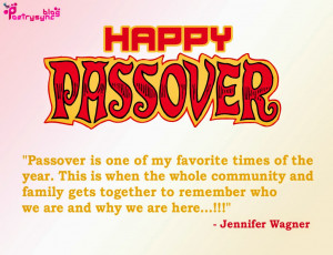 Happy Passover Quotes Image Passover is one of my favorite times By ...