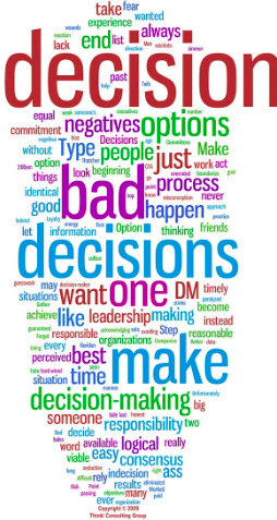 Making decisions is sometimes hard. I'm usually a fairly decisive ...