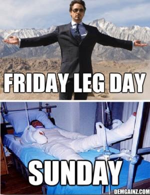 OMG Friday Leg Day =)