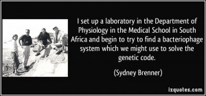 Medical Laboratory Science Quotes